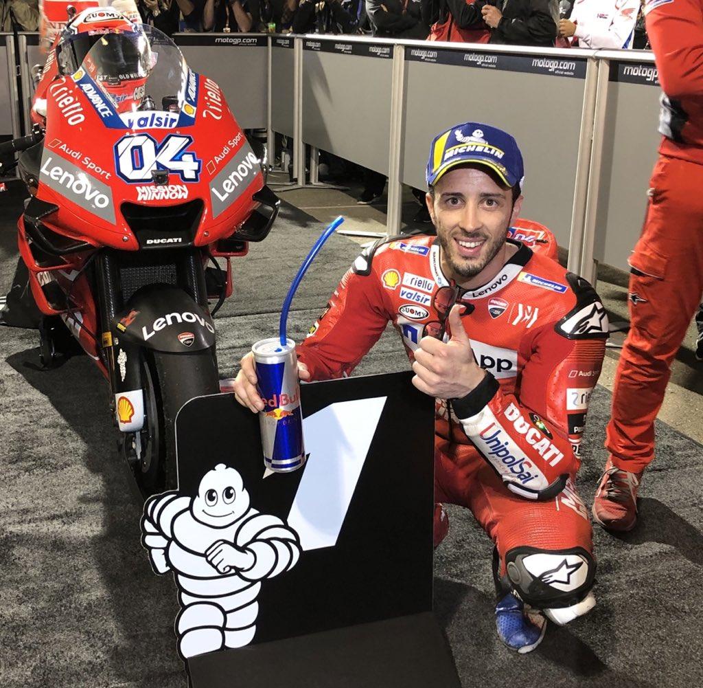 MotoGP | GP Qatar: Dovizioso vince su Márquez e Crutchlow. Vittoria a rischio per un reclamo