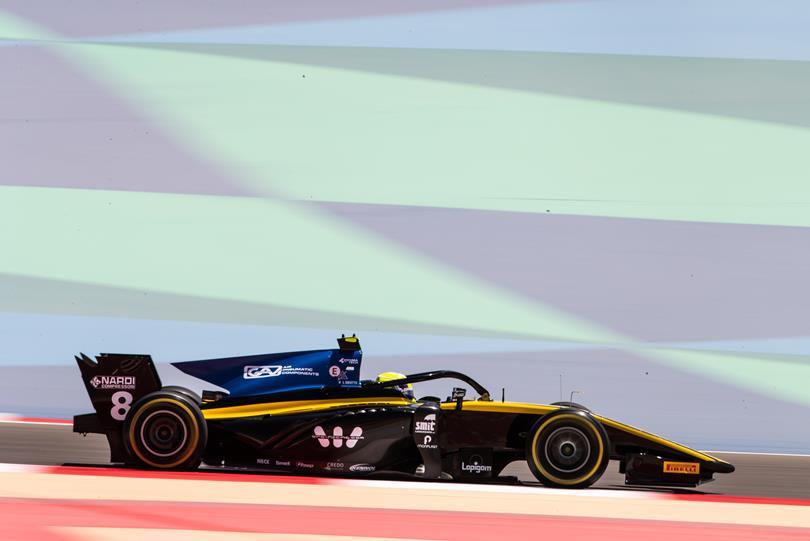 F2 | GP Bahrain: Luca Ghiotto firma la prima pole della stagione