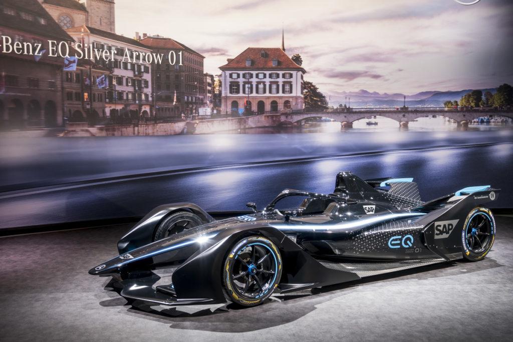 Formula E | Presentata la Mercedes EQ Silver Arrow 01