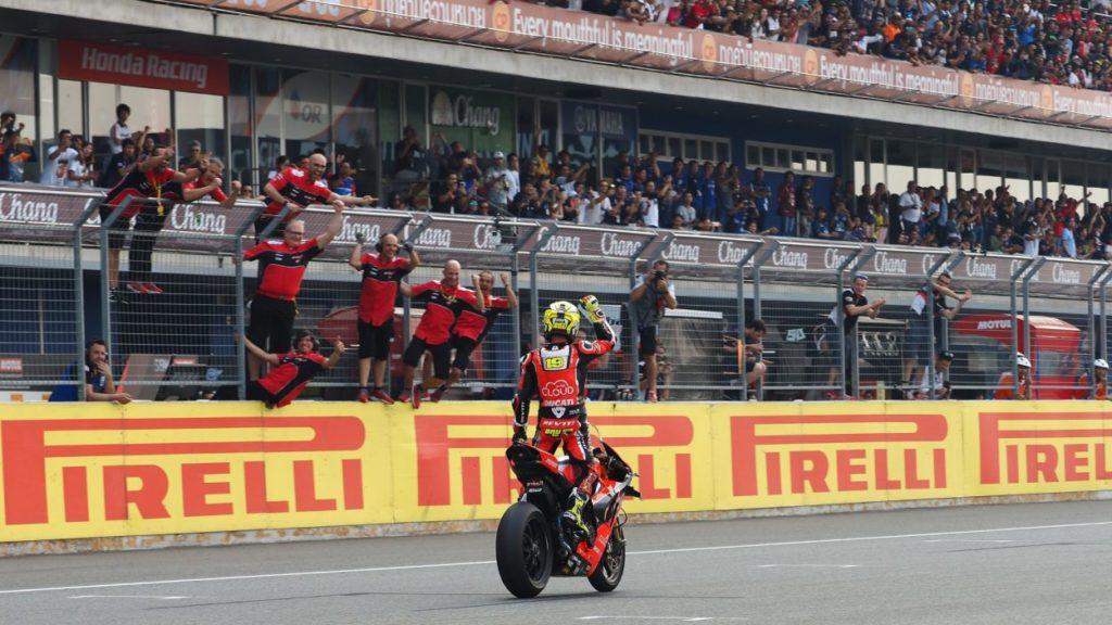 SBK | GP Thailandia: seconda doppietta consecutiva per Bautista