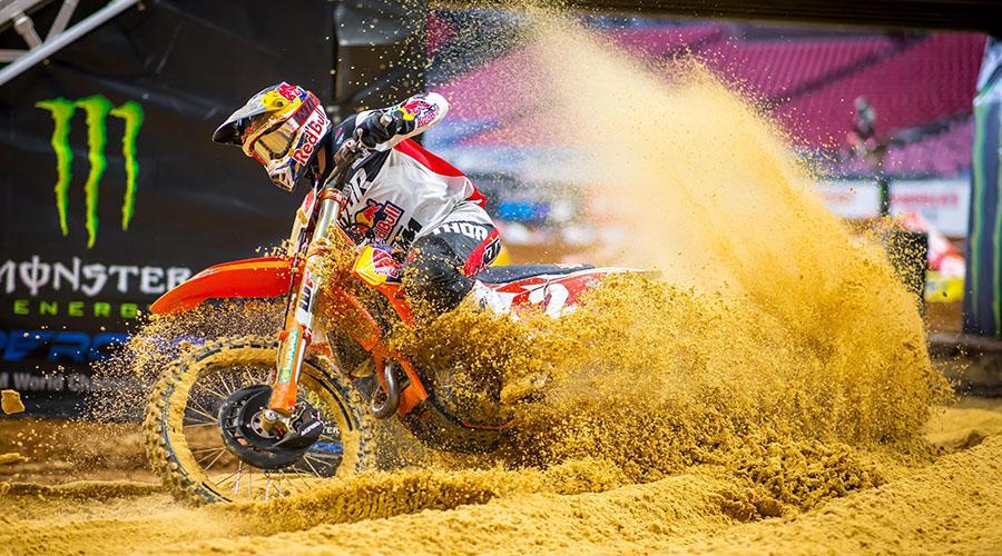 Supercross | L'inarrestabile Webb vince anche ad Atlanta