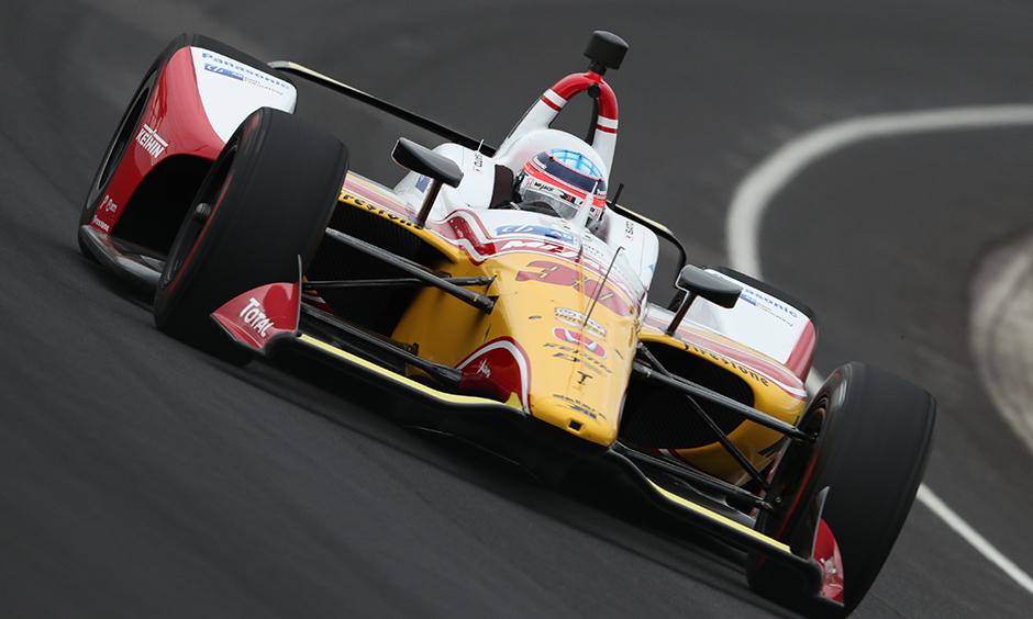 Indycar   Sato il più veloce nei primi test ad Indianapolis