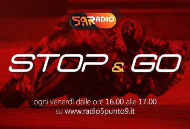 """""""Stop&Go"""" live venerdì 19 aprile alle ore 16:00 su Radio 5.9"""