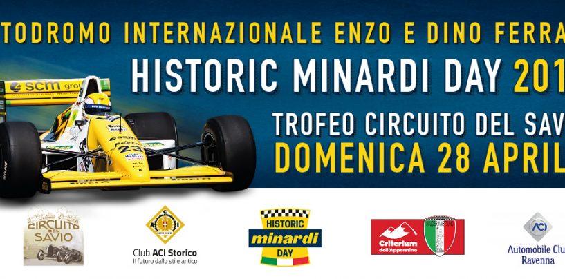 """<span class=""""entry-title-primary"""">È tutto pronto per il Minardi Day</span> <span class=""""entry-subtitle"""">A Imola la storia dei motori torna protagonista</span>"""