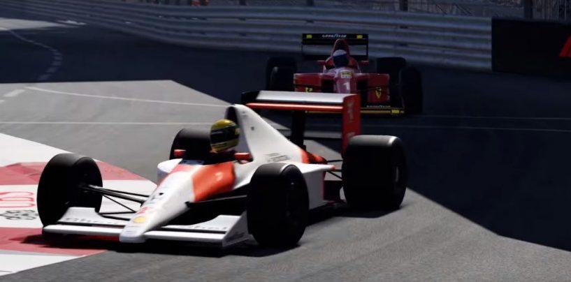 """<span class=""""entry-title-primary"""">F1   In F1 2019 sarà ancora Senna vs Prost</span> <span class=""""entry-subtitle"""">La rivalità tra i due grandi campioni rivive nel nuovo capitolo della Codemasters</span>"""