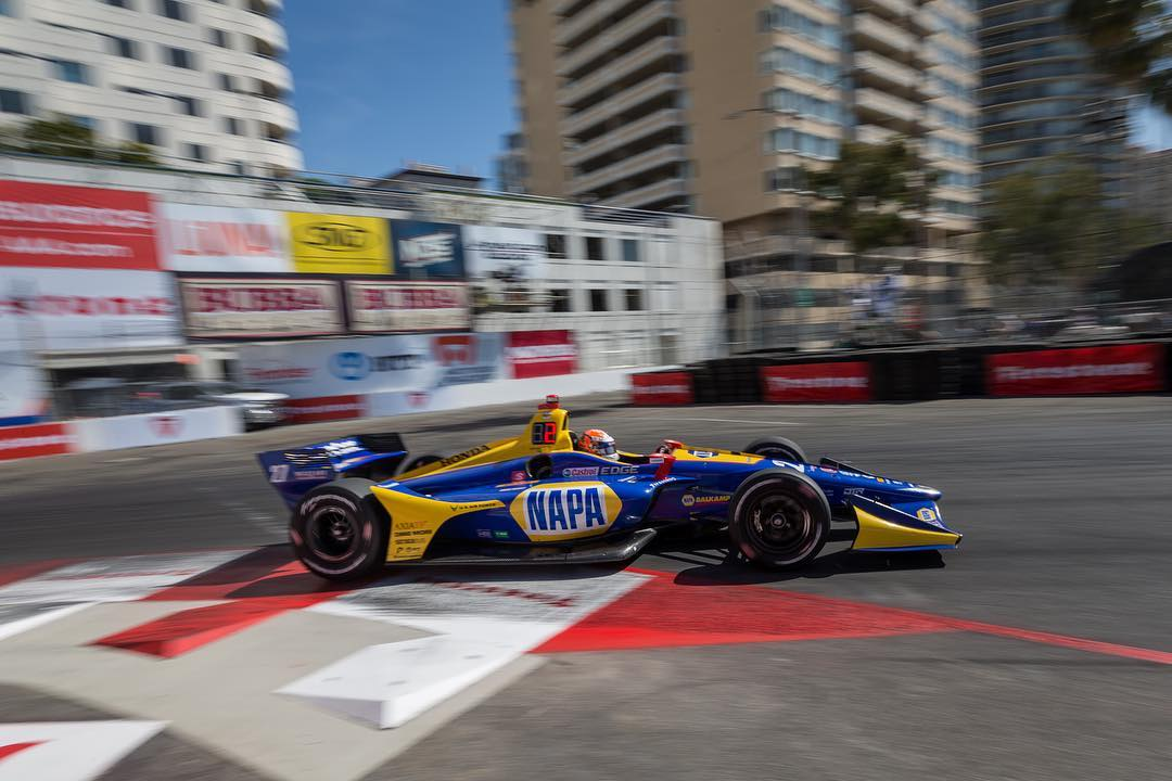 Indycar | GP Long Beach 2019: Alexander Rossi in pole a Long Beach