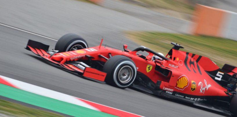 """<span class=""""entry-title-primary"""">F1   GP Cina, FP1: Vettel al top davanti a Hamilton</span> <span class=""""entry-subtitle"""">Il tedesco inizia bene il weekend con la Ferrari</span>"""