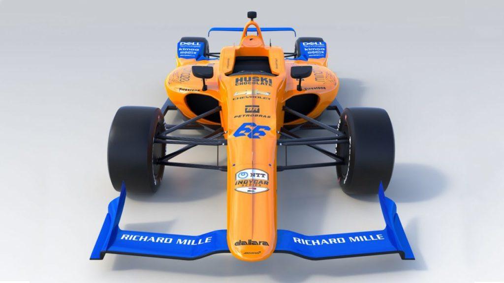 Indycar | McLaren presenta la #66 di Fernando Alonso per la Indy 500