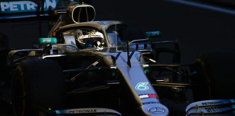 """<span class=""""entry-title-primary"""">F1   GP Azerbaijan, Bottas in pole in una qualifica drammatica. Vettel 3°, Leclerc a muro</span> <span class=""""entry-subtitle"""">Quasi due ore di qualifica per i botti di Kubica e del monegasco. Hamilton battuto sul filo di lana</span>"""
