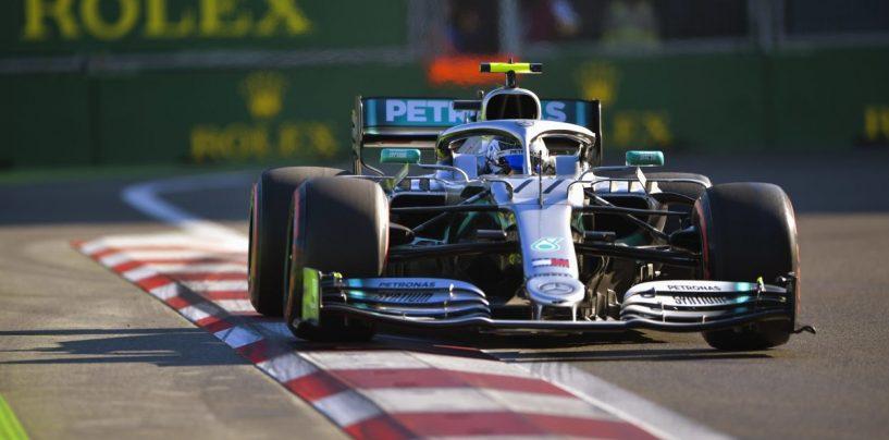 "<span class=""entry-title-primary"">F1 | GP Azerbaijan: Bottas vince la lotta con Hamilton, Mercedes 4a doppietta di fila</span> <span class=""entry-subtitle"">Vettel 3° davanti a Verstappen e Leclerc, a punti McLaren e Racing Point</span>"