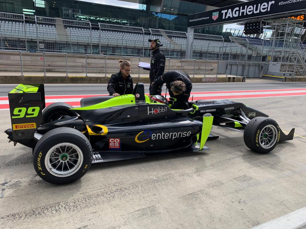 Finiti i test per Andrea Cola, questo weekend la prima gara a Monza
