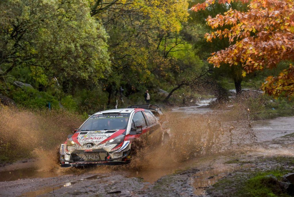 WRC   Argentina: Meeke al comando a metà della prima tappa