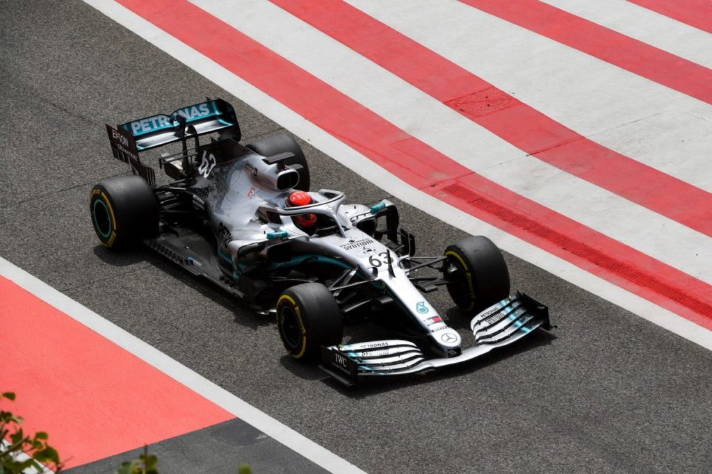 F1 | Sakhir Test Day 2: Russell riporta la Mercedes davanti a tutti