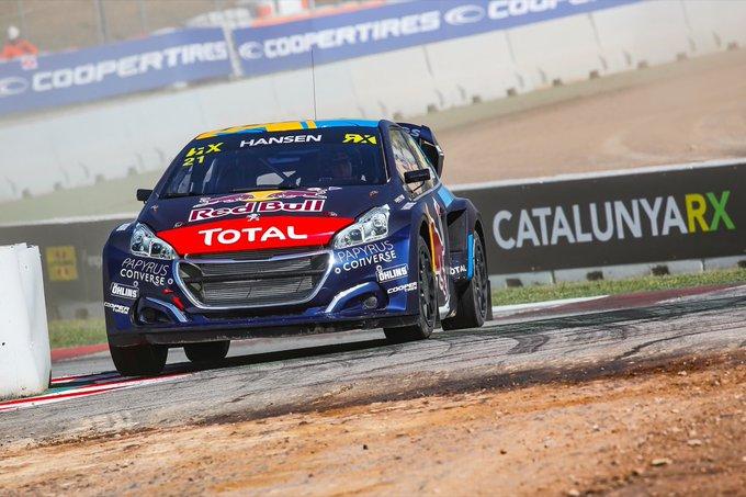 WRX | Catalunya: Timmy Hansen domina, doppietta Peugeot
