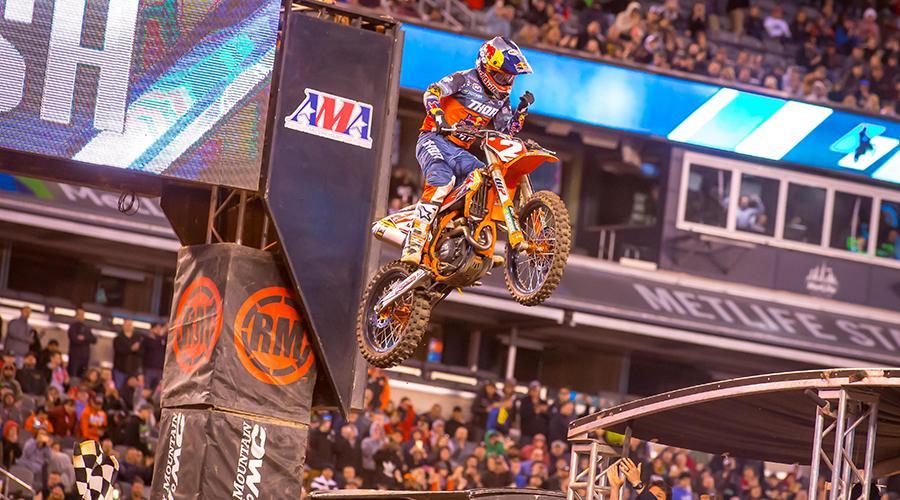 Supercross | Cooper Webb mette la settima ad East Rutherford e ipoteca il titolo
