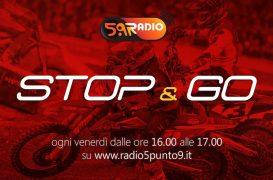 """""""Stop&Go"""" live venerdì 3 maggio alle ore 16:00 su Radio 5.9"""