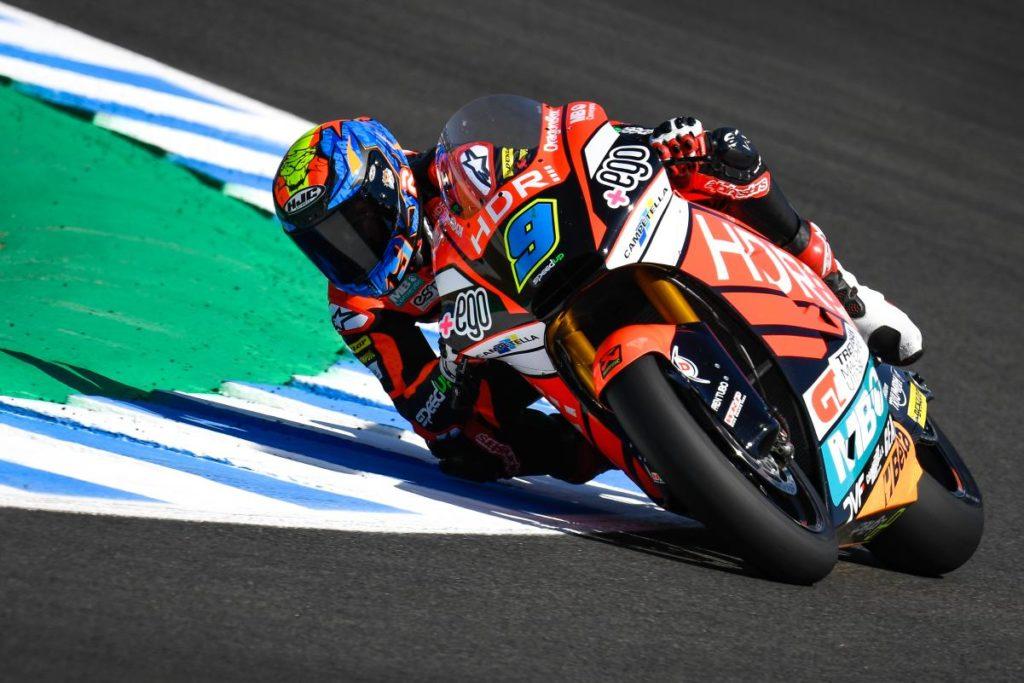 Moto2   GP Spagna: Jorge Navarro porta la Speed Up in pole