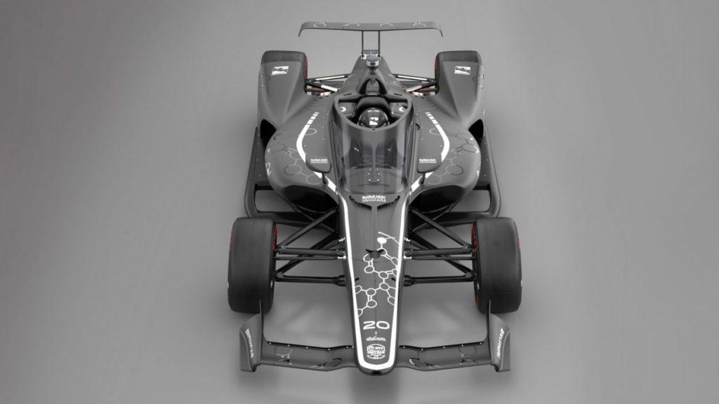 Indycar   I dettagli del nuovo windscreen