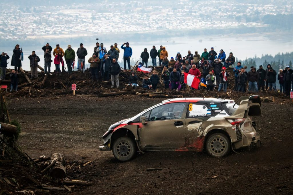 WRC   Cile: Tänak allunga, Latvala scavalca Neuville