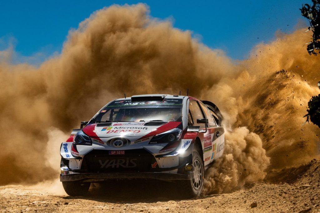 WRC   Portogallo: Tänak prende vantaggio, Neuville e Ogier risalgono la classifica