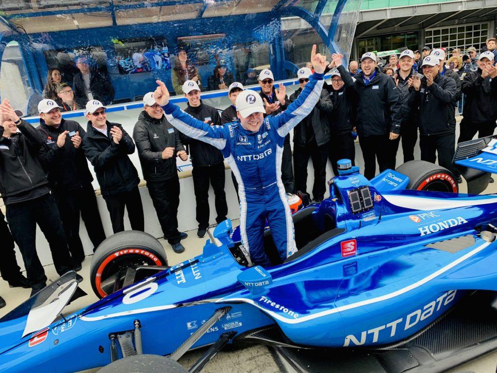 Indycar | GP Indianapolis: Rosenqvist conquista la sua prima pole position