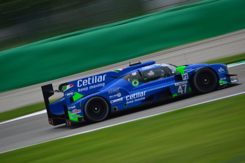 Svelata nei test di Monza la Dallara 2019 di Cetilar Racing
