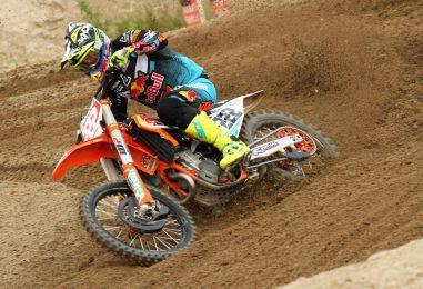 MXGP | Tony Cairoli vince la gara di qualifica a Mantova davanti a Gajser