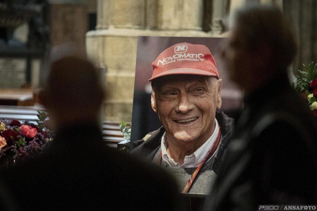 F1   Celebrati a Vienna i funerali di Niki Lauda