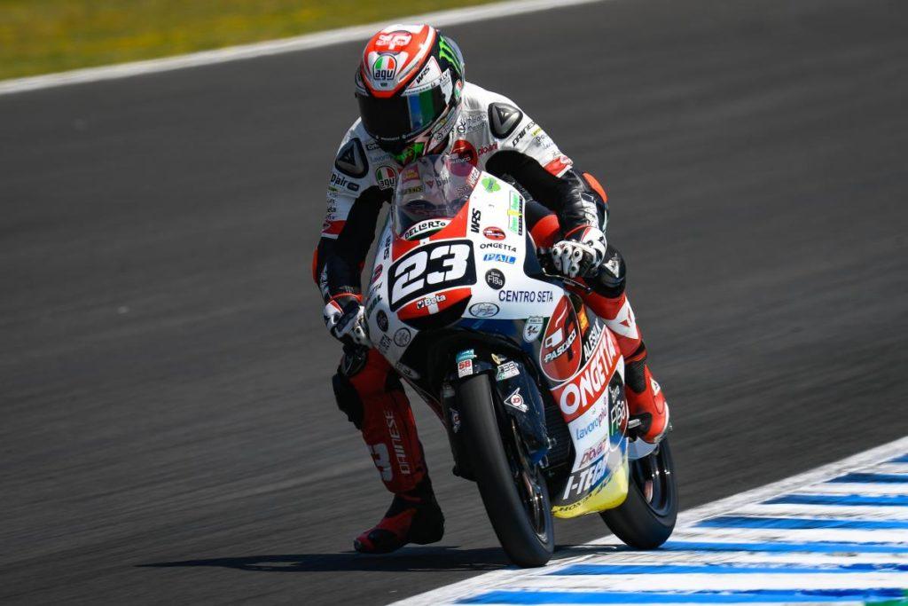 Moto3   GP Spagna: vince Antonelli, doppietta del team SIC58