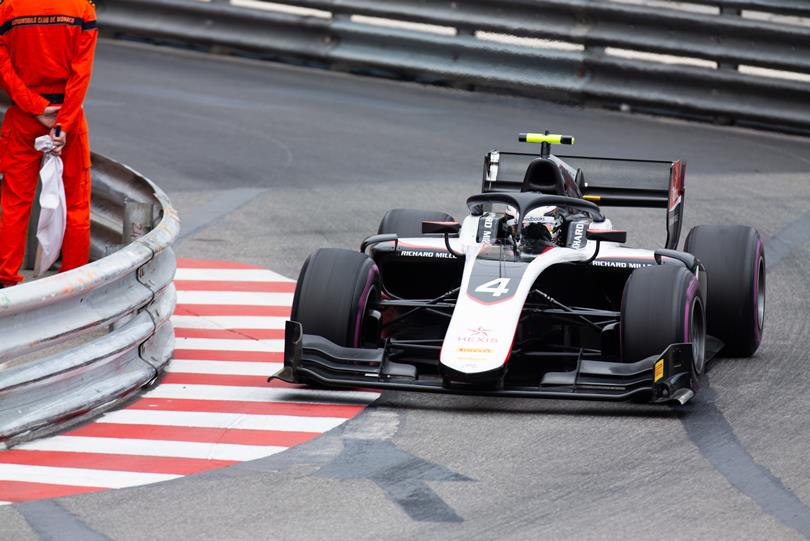 F2 | GP Monaco: de Vries domina la feature race, Ghiotto secondo
