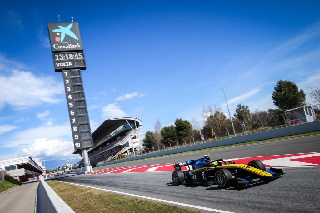 F2   GP Spagna, seconda pole dell'anno per Luca Ghiotto