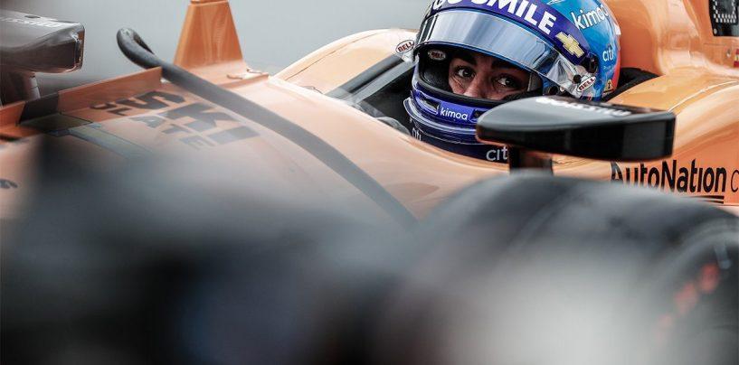 """<span class=""""entry-title-primary"""">Chi perde rischiando vince comunque, sempre</span> <span class=""""entry-subtitle"""">Alonso è fuori dalla Indy 500: il suo ultimo run, da palle cubiche, non lo premia per 13 millesimi</span>"""