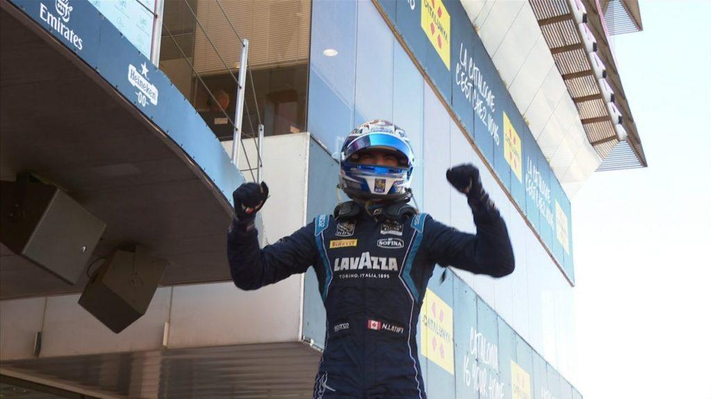 F2   GP Spagna, Latifi vince la Feature Race. Ghiotto 4° dopo una grande rimonta