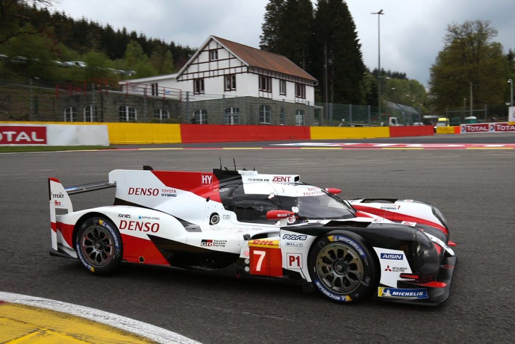 WEC | Spa-Francorchamps: Conway e Kobayashi portano in pole la Toyota #7