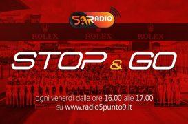 """""""Stop&Go"""" live venerdì 14 giugno alle ore 16:00 su Radio 5.9"""