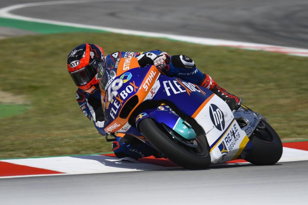Moto2 | GP Catalunya: prima pole position per Augusto Fernández
