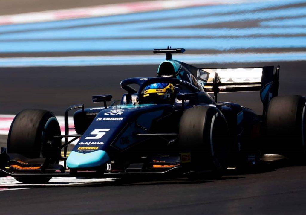 F2 | GP Francia: Sette Camara in pole nonostante un testacoda