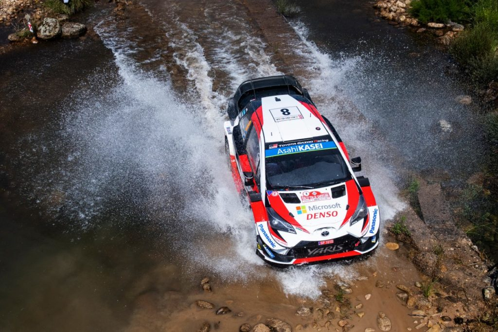 WRC | Sardegna: Tänak completa la giornata perfetta, Sordo a 26 secondi