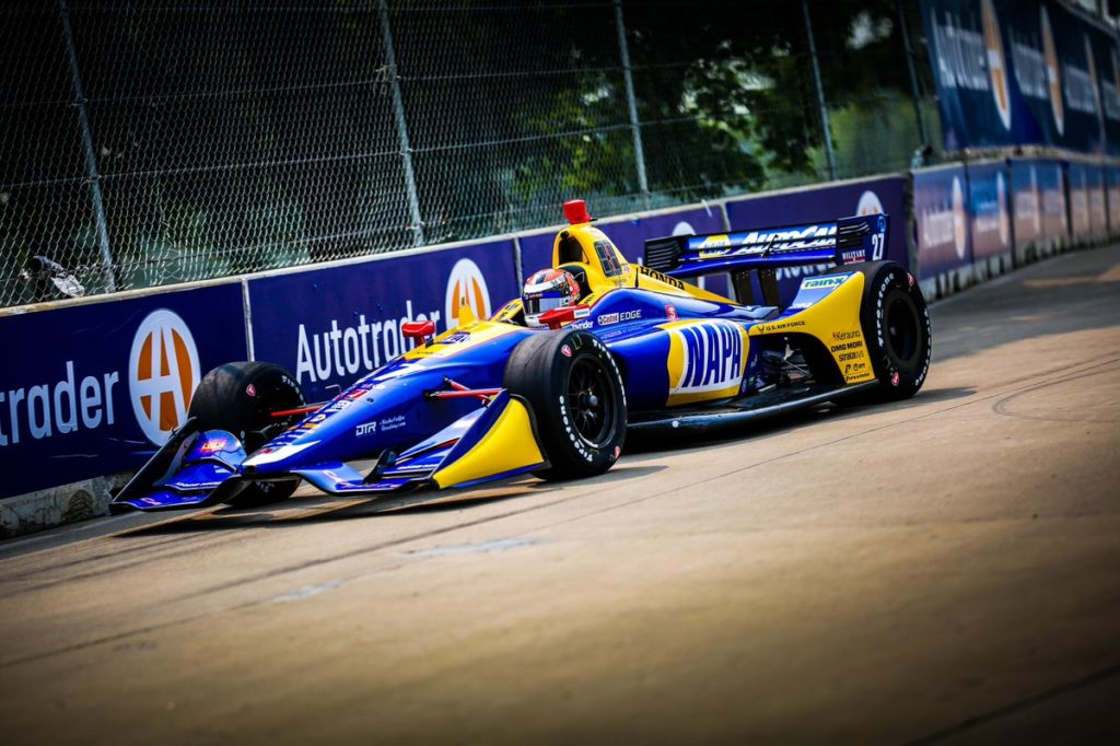 Indycar | GP Detroit 2019: Rossi apre le danze nelle libere del venerdì