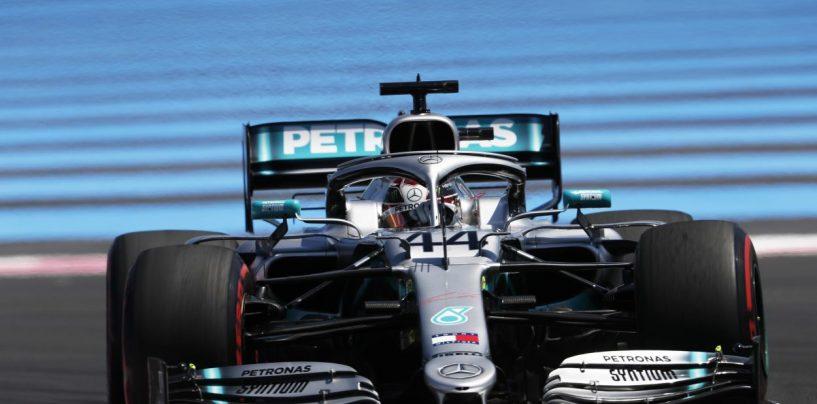 """<span class=""""entry-title-primary"""">F1   GP Francia: Hamilton domina su Bottas e Leclerc. Mercedes addormenta il mondiale</span> <span class=""""entry-subtitle"""">Al Paul Ricard succede pochissimo. Vettel chiude 5° col giro più veloce. È Formula Mercedes</span>"""