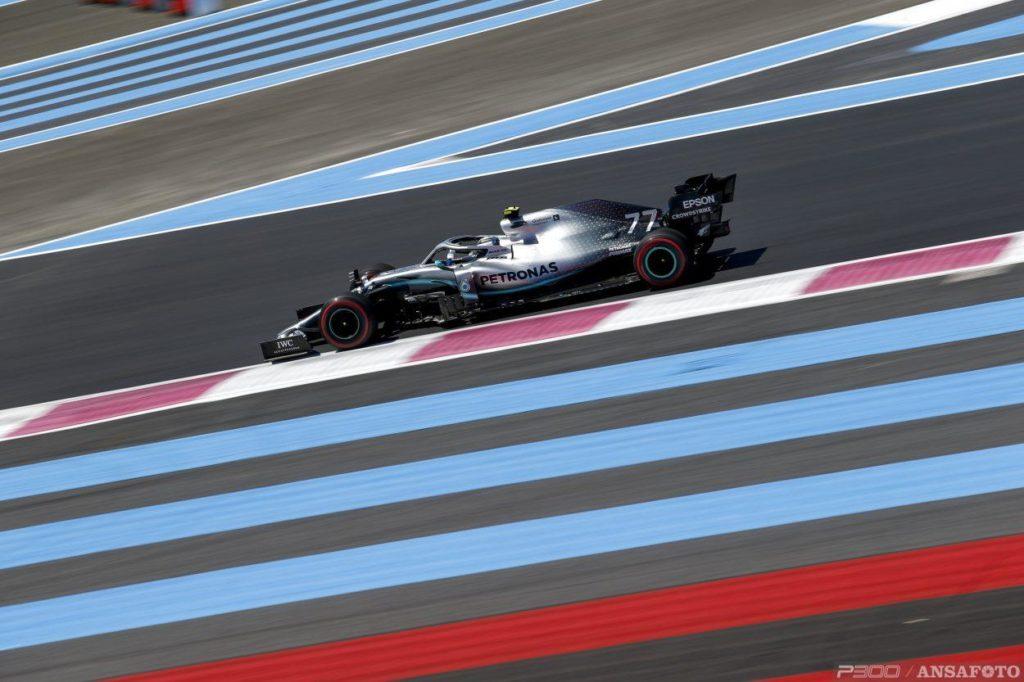 F1 | GP Francia: Bottas risponde a Hamilton nella FP2