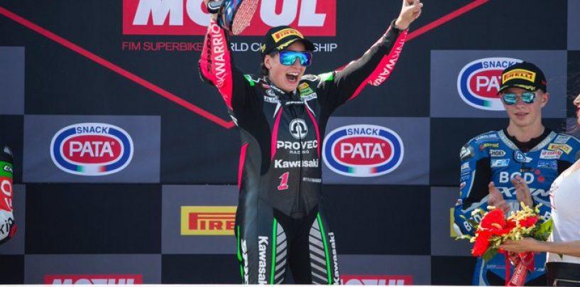 """<span class=""""entry-title-primary"""">GP Riviera di Rimini, SSP300: Ana Carrasco torna a vincere</span> <span class=""""entry-subtitle"""">Prima vittoria stagionale per la campionessa in carica. Gonzalez mantiene la seconda piazza</span>"""