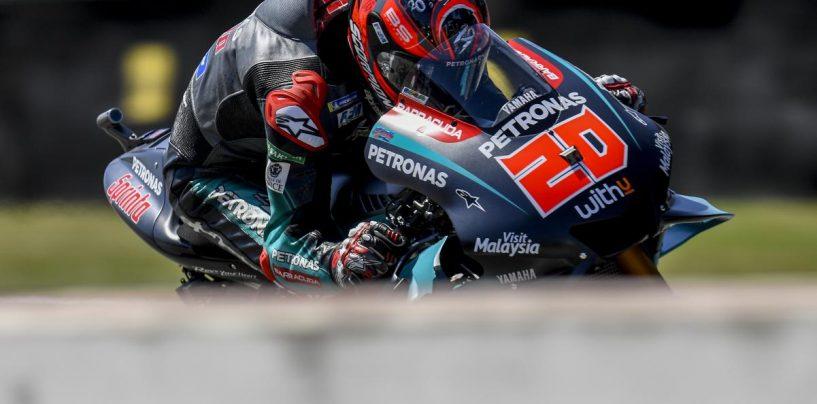 "<span class=""entry-title-primary"">MotoGP | GP Olanda: Quartararo alla terza pole position</span> <span class=""entry-subtitle"">Il francese, insieme a Viñales e Rins, fa un altro mestiere al sabato. Márquez quarto, Dovizioso 11°</span>"