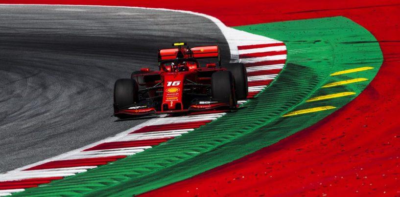 """<span class=""""entry-title-primary"""">F1   GP Austria: Leclerc splendida pole, Hamilton 2° ma investigato. Vettel non gira in Q3</span> <span class=""""entry-subtitle"""">Il monegasco infila la seconda pole in carriera. Hamilton e Raikkonen dai commissari per impeeding dell'inglese</span>"""