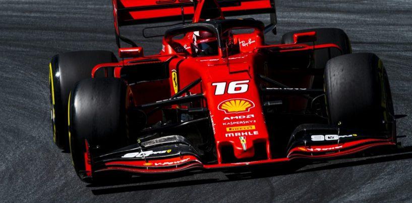 """<span class=""""entry-title-primary"""">F1   GP Austria, FP3: Leclerc comanda con la Ferrari sulle Mercedes</span> <span class=""""entry-subtitle"""">Il monegasco carico in vista delle qualifiche</span>"""