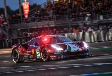 WEC | Le Mans: problemi per Porsche #92, Ferrari in lotta per la vittoria della GTE