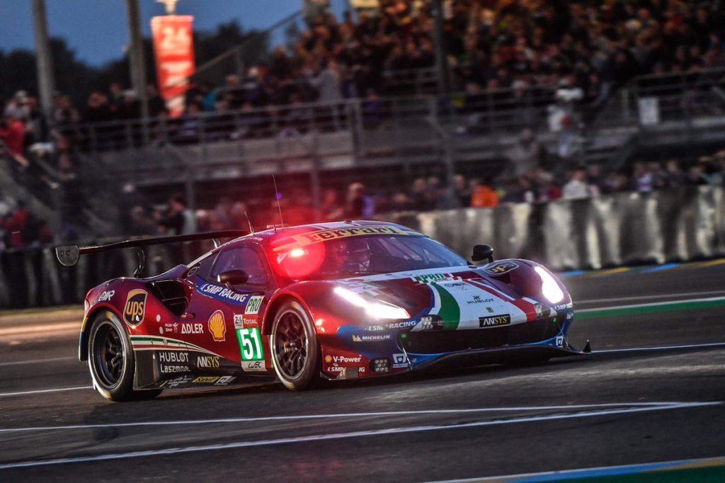 WEC   Le Mans: problemi per Porsche #92, Ferrari in lotta per la vittoria della GTE