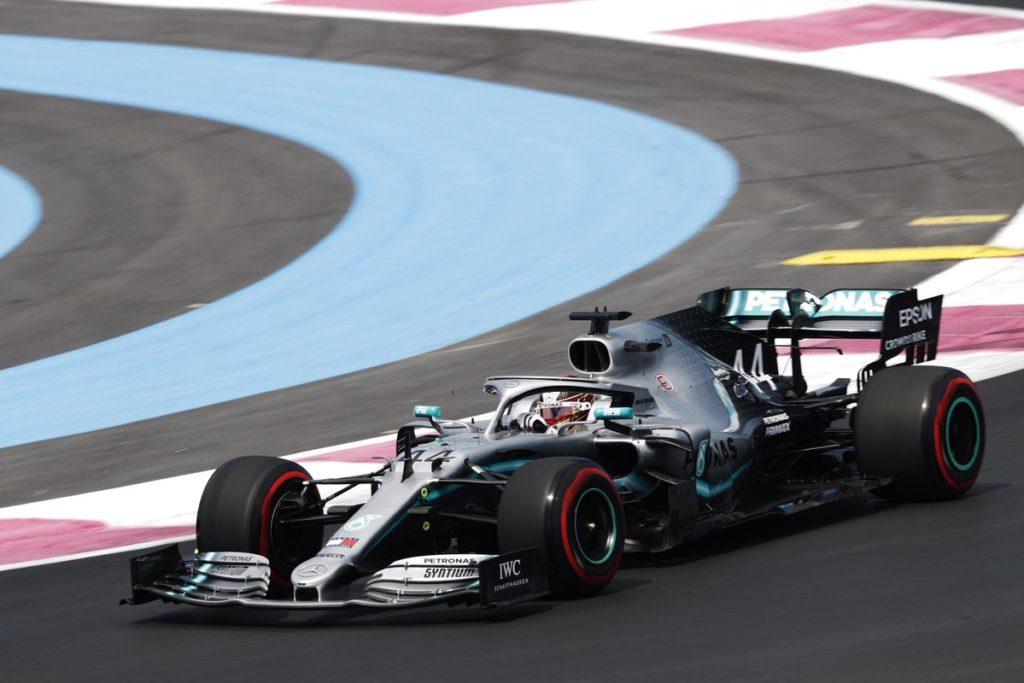 F1   GP Francia: Hamilton il più veloce nella FP1
