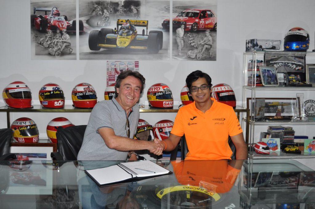 F2 | Arjun Maini sostituisce Dorian Boccolacci nel team Campos