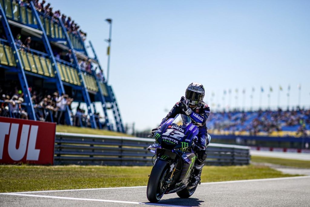 MotoGP   GP Olanda: Maverick Viñales riporta al successo la Yamaha